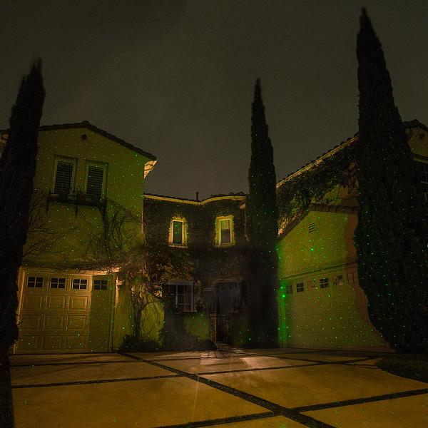 Green-Sparkle-Magic-Illuminator-Laser-Light-House-Yard-Landscape-Lighting