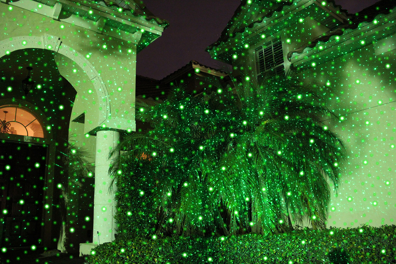 Sparkle Magic Night Stars Premium Landscape Laser