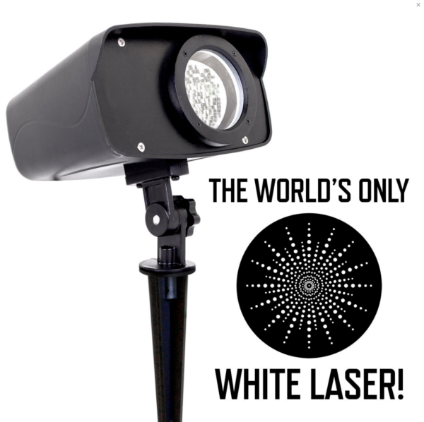 White-Moving-Laser